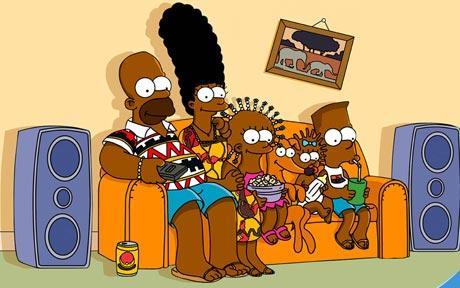 чернокожие Симпсоны