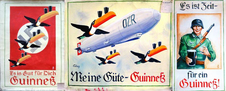 Guiness нацистская реклама