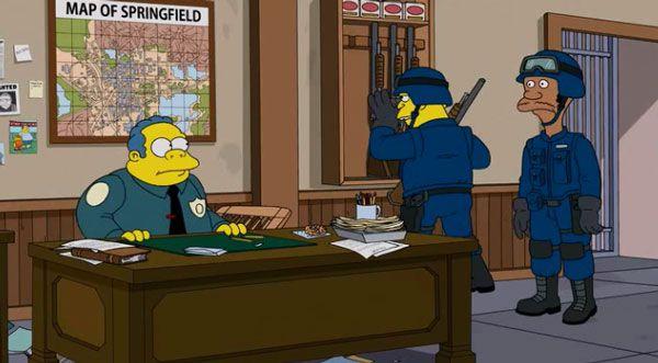 вигам симпсоны полицейский