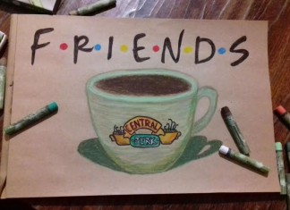 сериал друзья лого