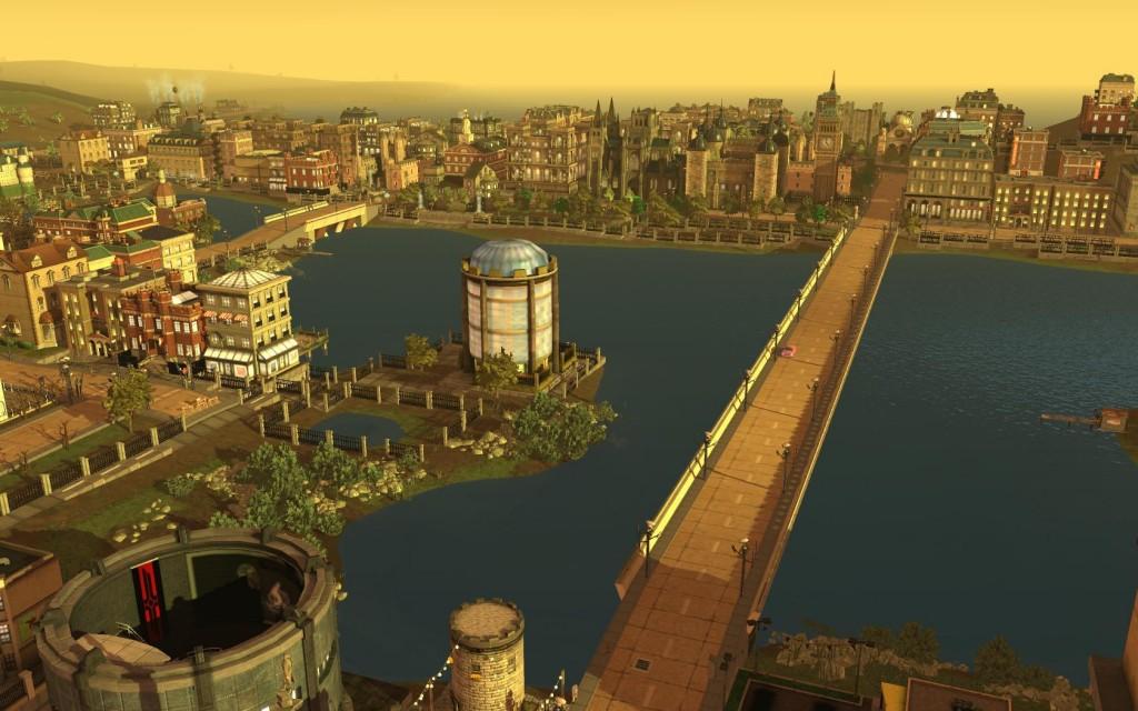 SimCity Город с характером