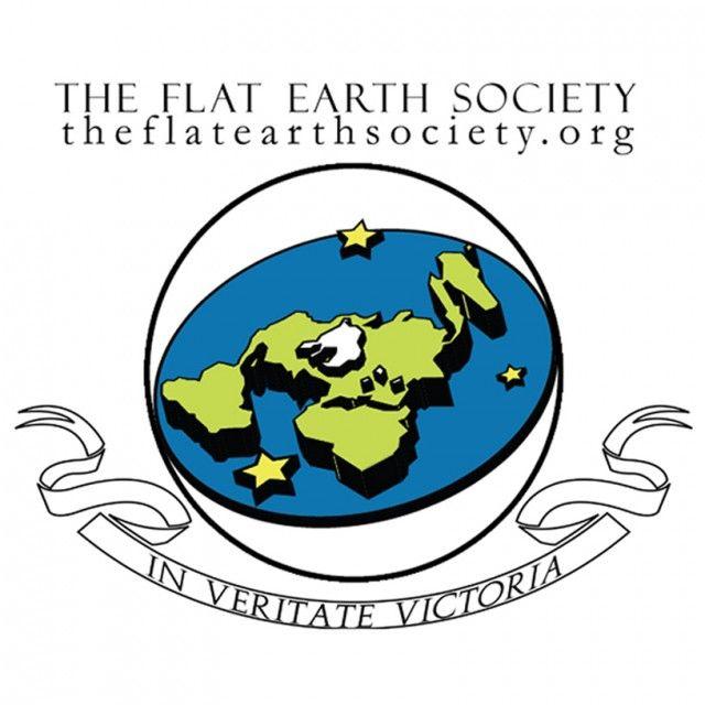 общество плоской земли лого