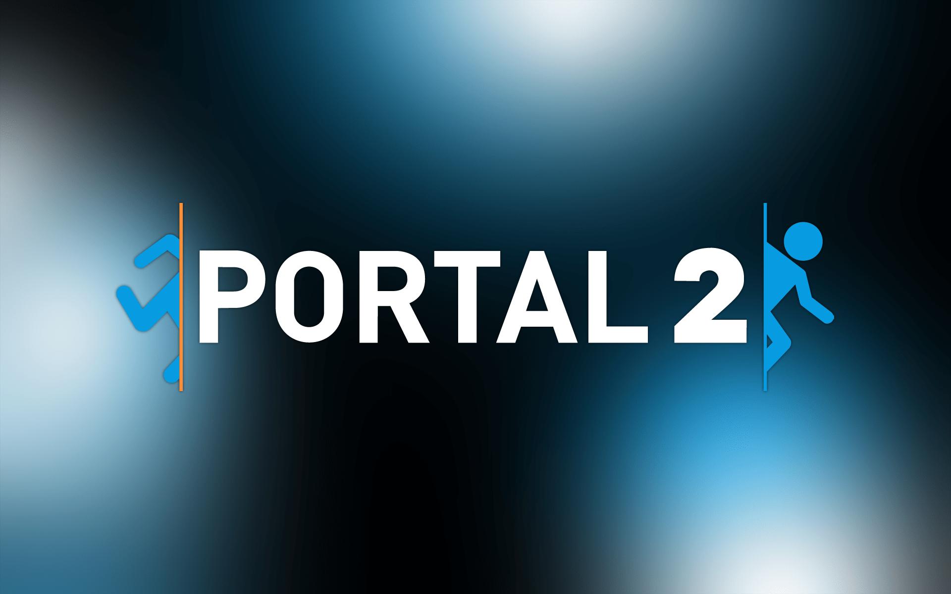 Portal 2 - игра на двоих на одном компьютере