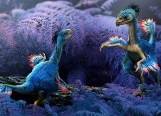 необычный динозавр