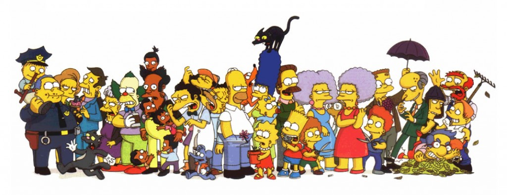 Simpsons_cast