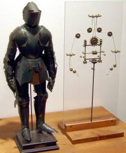 механический рыцарь Леонардо-да-Винчи