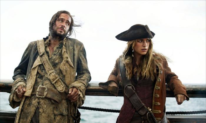 Кира Найтли пират