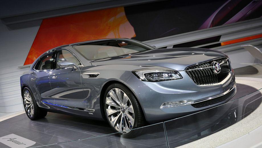 Концепт кар Buick Avenir