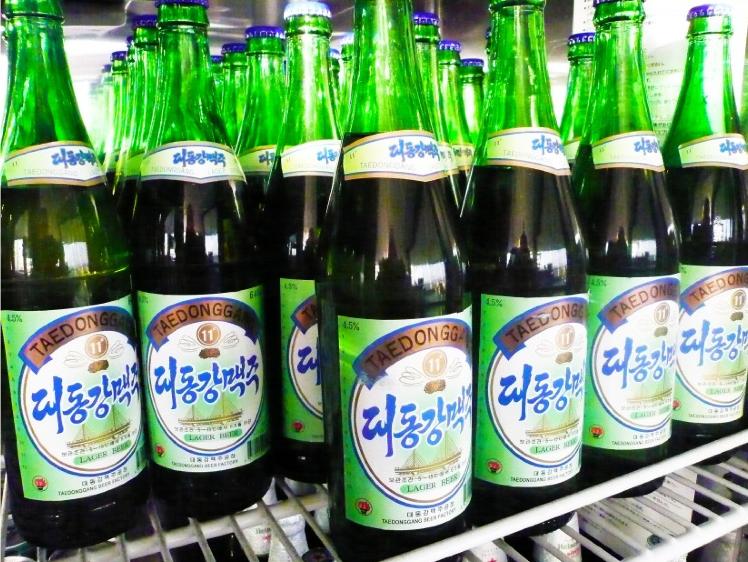 северная корея пиво Taedonggang