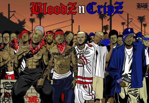 Банда Bloods-n-Crips