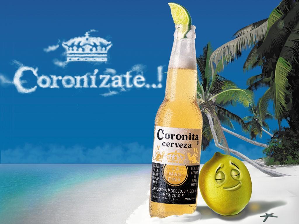 beer corona lime