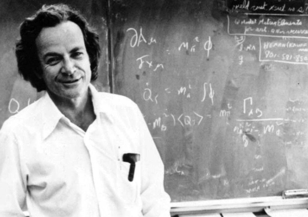 Американский ученый Ричард Фейнман