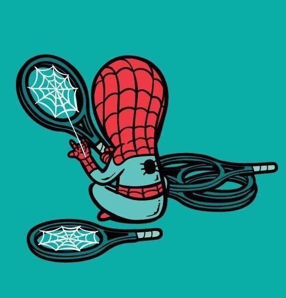 Человек-паук - рисунок