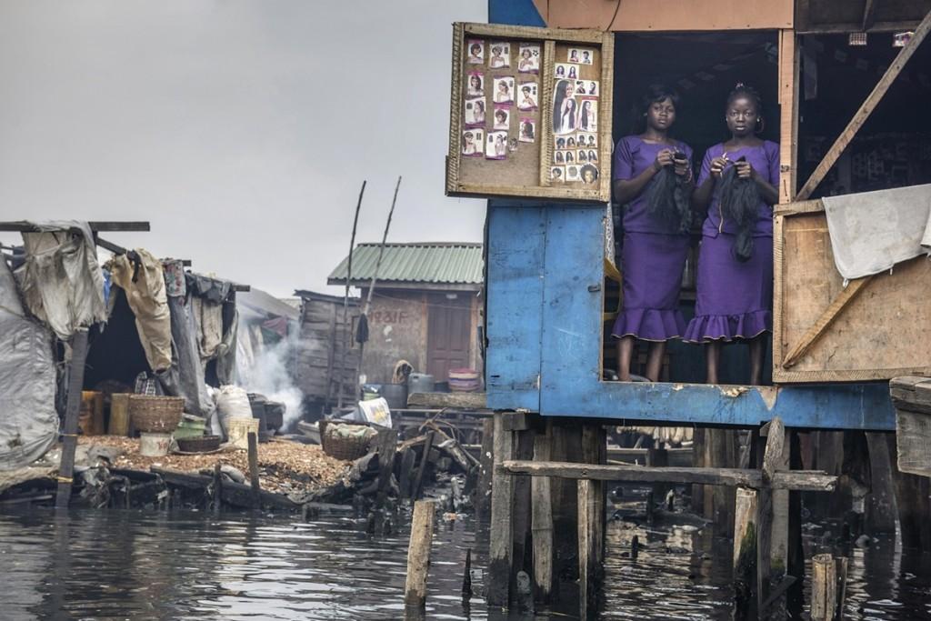 трущобы на воде лаос нигерия