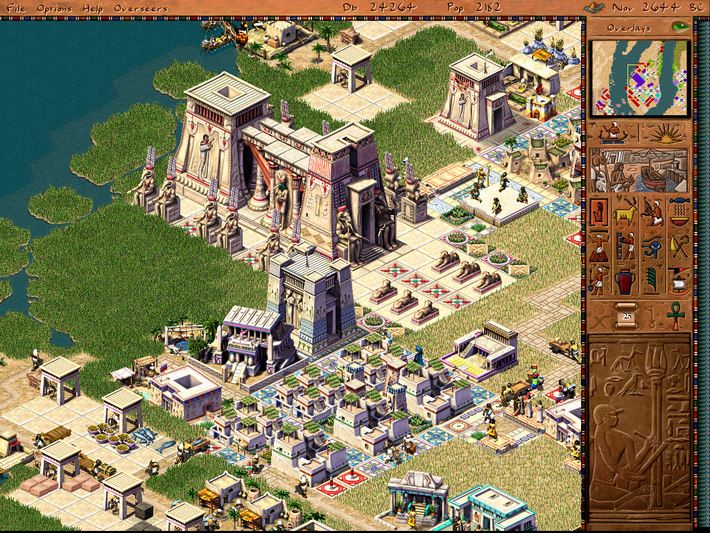 Pharaoh стратегия