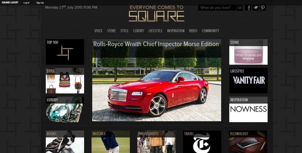 Squa - развлекательный портал для богатых