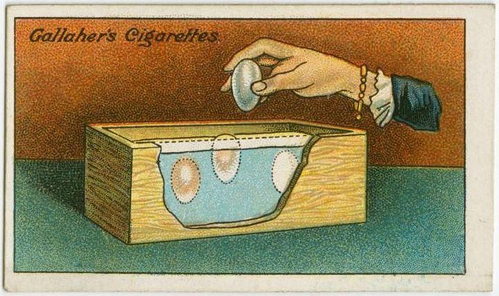 Консервация яиц в прошлом