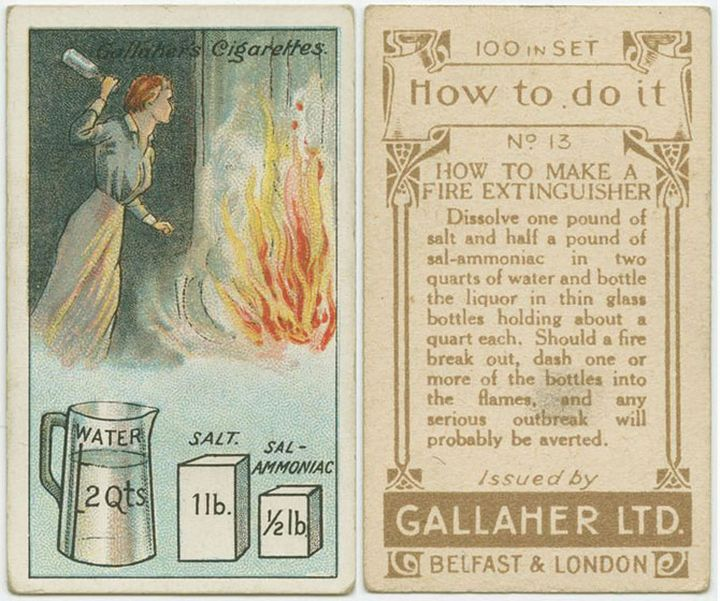Как потушить пожар