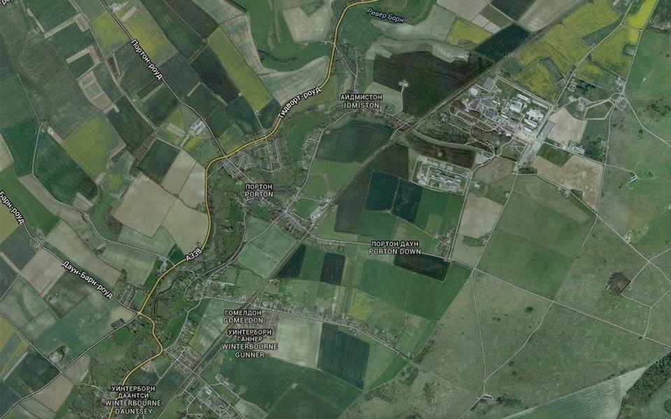 Портон Даун на карте