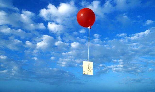 воздушный шарик письмо