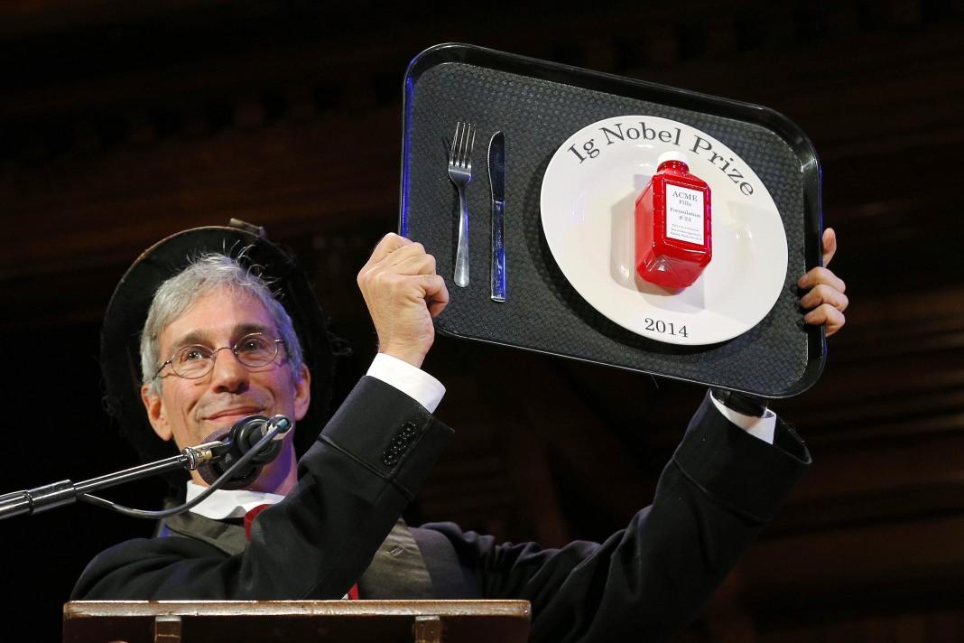 Кто получил Шнобелевскую премию