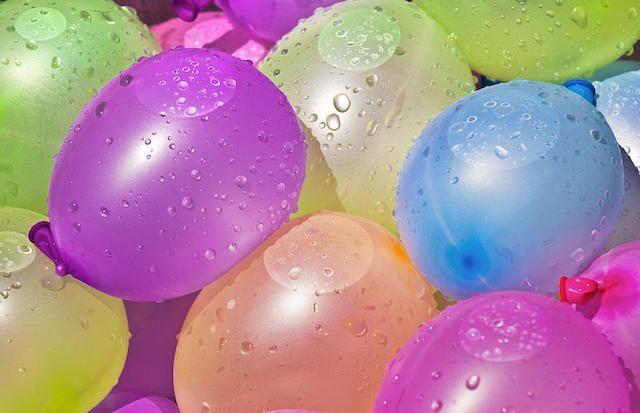 шары с водой