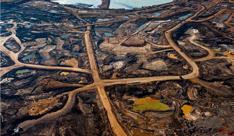 битумная нефть атабаска