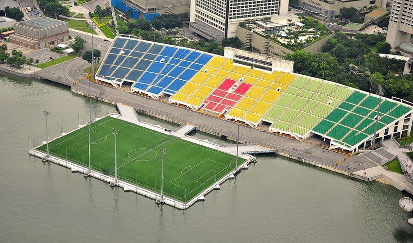 стадион на воде сингапур