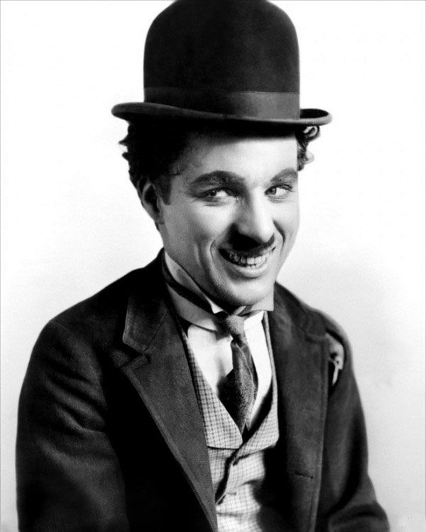 чарли чаплин улыбка