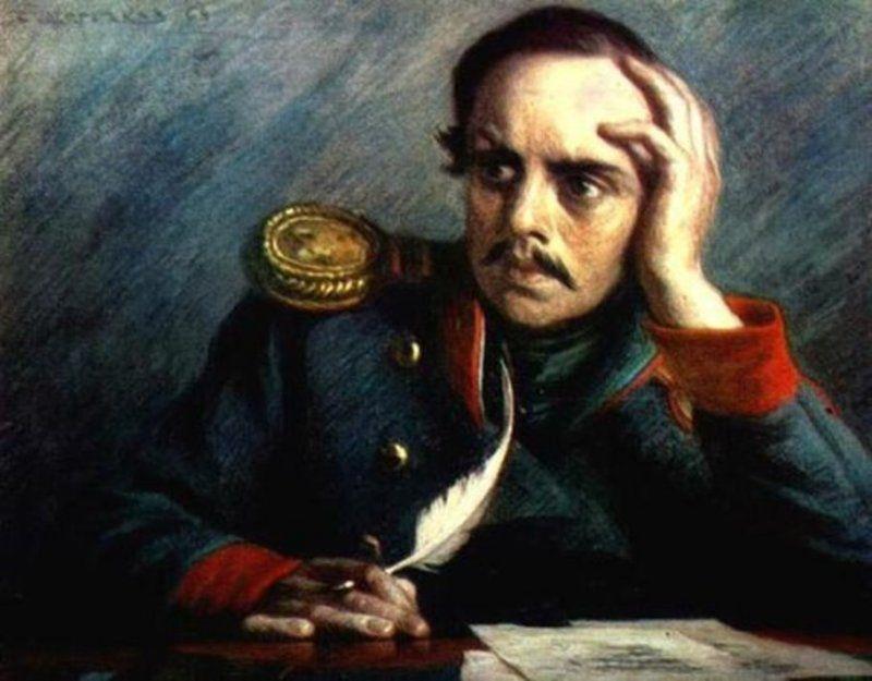 лермонтов портрет
