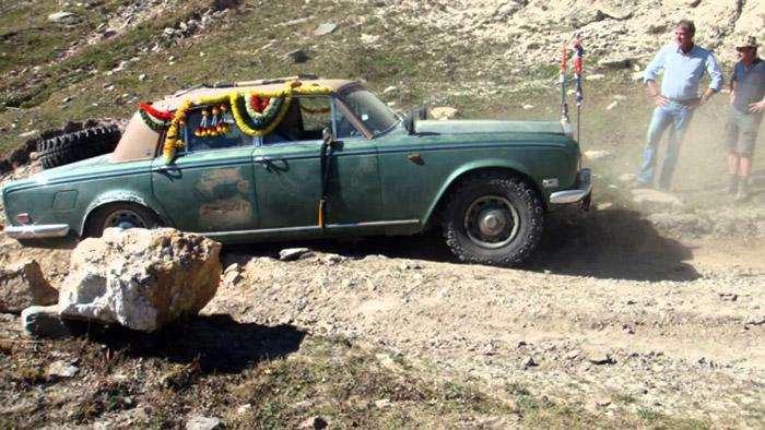Топ Гир на дорогах Индии