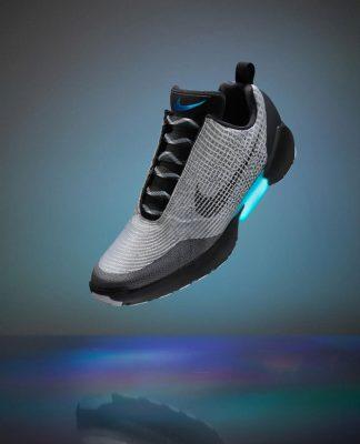 Самозашнуровывающиеся кроссовки Nike HyperAdapt