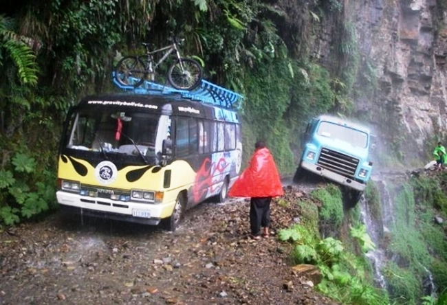 Yungas Road, Боливия
