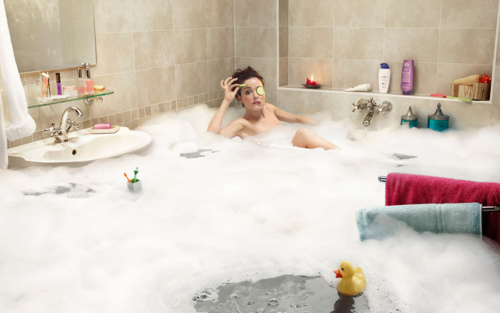 пенная ванна