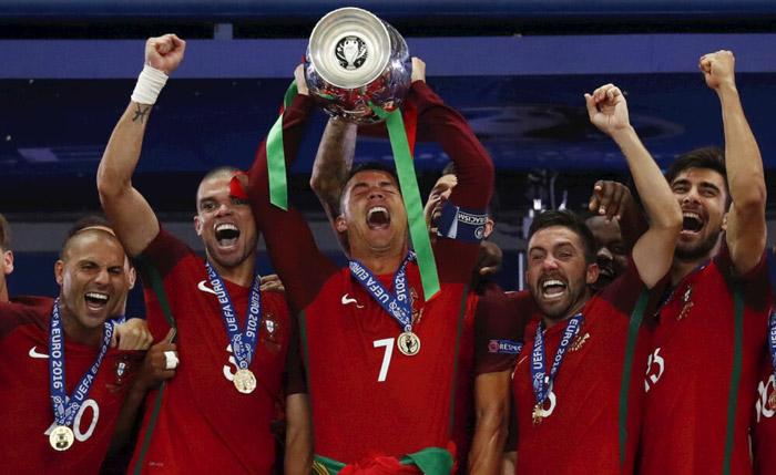 Португалия победила на Евро 2016