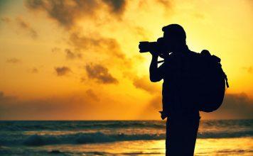 Фотограф и закат
