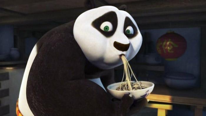 кунг-фу панда лапша