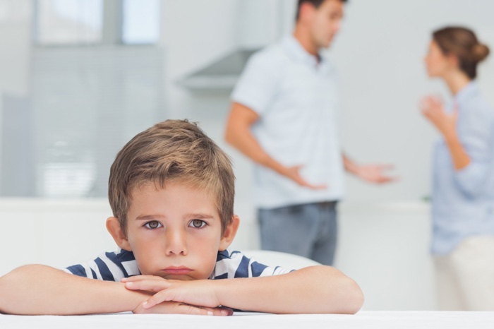 ребенок ссора