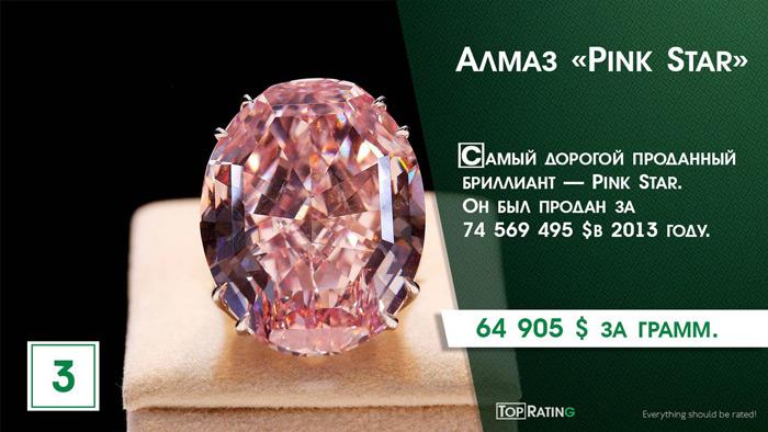 алмаз Пинк Стар
