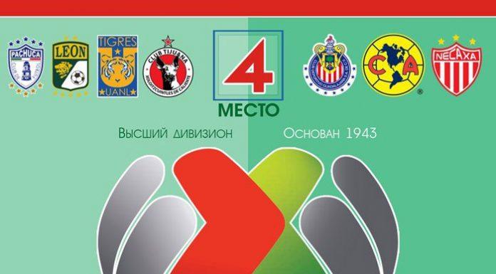 Самые посещаемые футбольные лиги - чемпионат Мексики