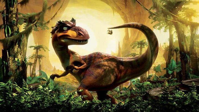 """Кадр из мультфильма """"Ледниковый период 3. Эра динозавров"""""""