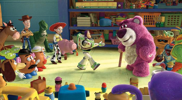 Мультфильм студии Pixar - История игрушек 3