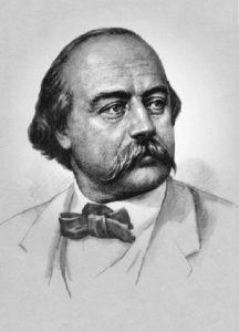 Портрет писателя Гюстава Флобера