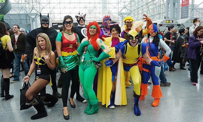 Мода на супергероев