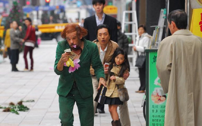 "Кадр из кинофильма ""Токио!"""