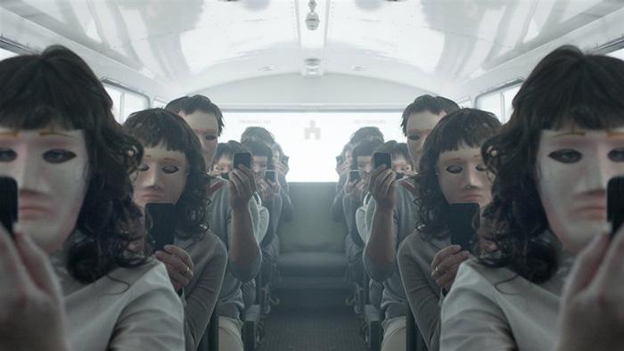 """Кадр из фильма """"Черное зеркало"""""""